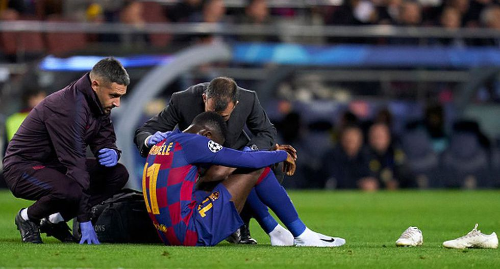 Ousmane Dembélé llegó al Barcelona a inicios del 2018 procedente del Dortmund. (Getty)