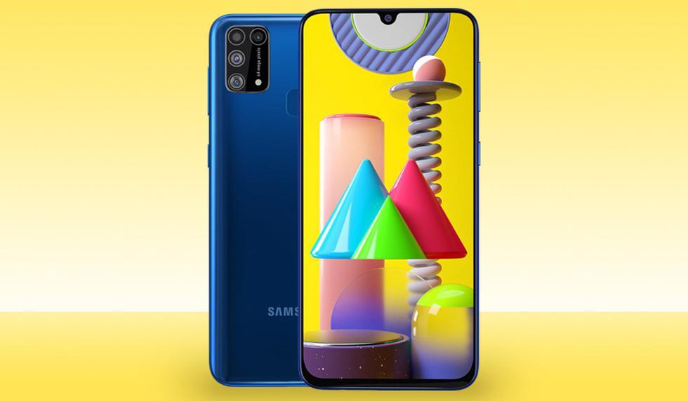 """Este terminal viene con una potente batería y hoy se encuentra en oferta por el <a href=""""https://mag.elcomercio.pe/data/black-friday-2020-celulares-samsung-oferta-amazon-smartphones-comprar-precio-online-costo-dolares-estados-unidos-espana-mexico-colombia-nnda-nnni-noticia/""""><font color=""""blue"""">Samsung Galaxy M31</font></a> se encuentra en oferta en <a href=""""https://www.amazon.com.mx/SAMSUNG-SM-M315FZBKMXO-Galaxy-M31-Blue/dp/B086GG51ZB?ref_=Oct_s9_apbd_orecs_hd_bw_bAZbat1&pf_rd_r=TKT1388QDTRHRBJGMBYQ&pf_rd_p=a25c8a15-edc7-5a78-8dea-d70e1e5f42b2&pf_rd_s=merchandised-search-10&pf_rd_t=BROWSE&pf_rd_i=9687460011""""><font color=""""blue"""">Amazon México</font></a>. Este tiene una pantalla con resolución Super AMOLED Full HD+ de 6.4 pulgadas. Asimismo, viene con un procesador Exynos 9611 acompañado de 6GB de memoria RAM con 64GB o 128GB de almacenamiento interno. Su sistema de cámaras lo componen cuatro lentes: 64 MP + 8 MP + 5 MP + 5 MP en su posterior, mientras que la cámara para selfies es de 32 megapixeles. Su batería es de 6000 mAh con soporte para carga rápida, lector de huellas, y Android 10 con la interfaz One UI. (Foto: Samsung)"""