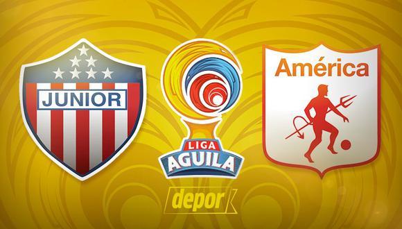 Vía Win Sports + | Junior vs. América de Cali EN VIVO ONLINE por la Liga BetPlay 2020