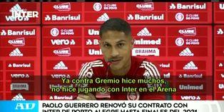 Paolo Guerrero seguirá rompiendo redes con Internacional