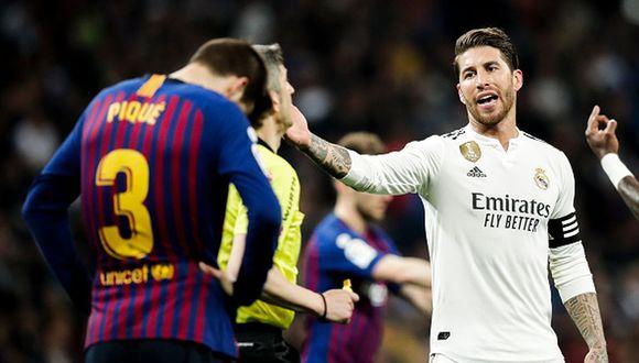 Sergio Ramos ha enfrentado al Barcelona en LaLiga, Copa y Champions League. (Getty)