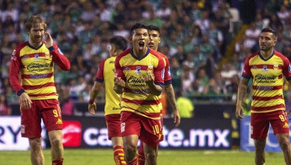 Edison Flores será titular en la semifinal de vuelta ante el América. Es pieza importante en el Monarcas Morelia. (Foto: AFP)