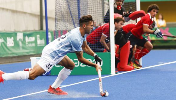 Los Leones debutaron con triunfo ante Chile en el hockey masculino de Lima 2019. (Lima 2019)
