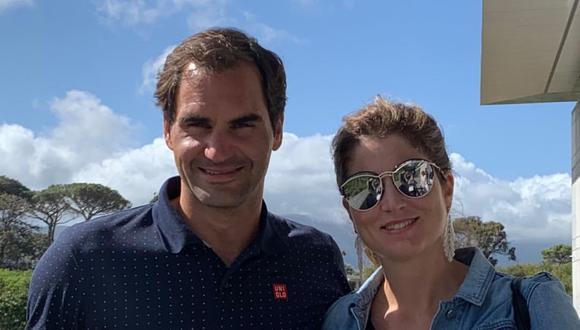 Roger Federer y su esposa Mirka Vavrinec. (Foto: Instagram)