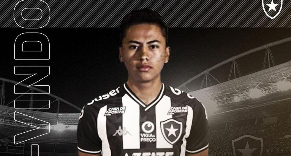 Lecaros fue oficializado como fichaje de Botafogo. (Facebook)