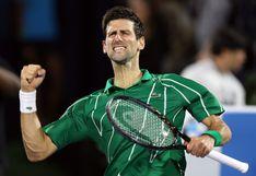 ¡Vuelve la raqueta! Novak Djokovic organizará torneos de tenis en los Balcanes