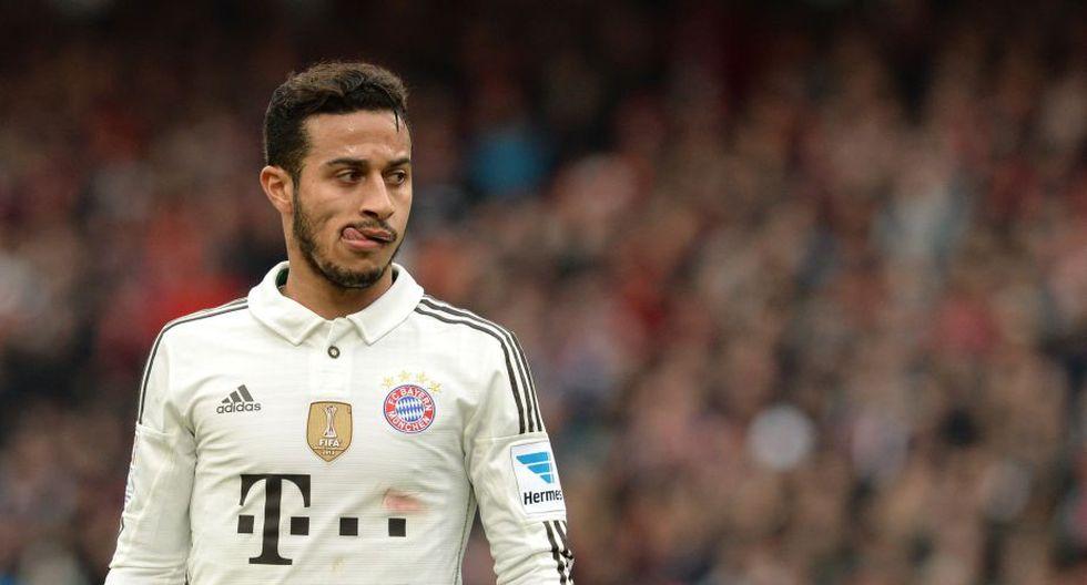 Thiago Alcántara llegó al Bayern a pedido de Guardiola en el 2013. (AFP)