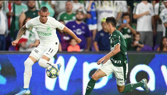 Atlético Nacional cayó en penales ante Palmeiras por la Florida Cup 2020.