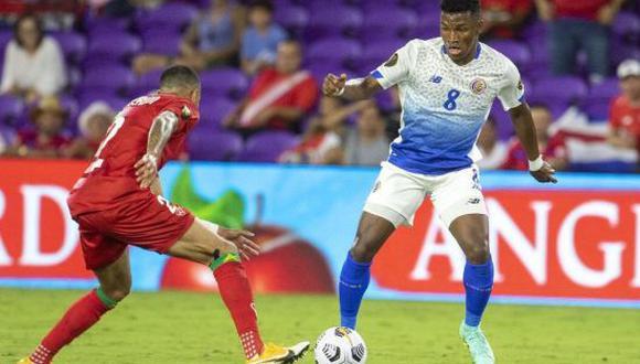 Costa Rica venció 2-1 a Surinam en la Jornada 2 de la Copa Oro 2021. (Foto: Twitter)