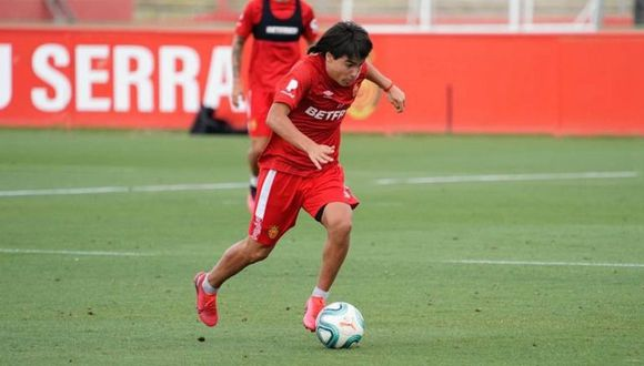 Luka Romero debutó en LaLiga con tan solo 15 años de edad. (Foto: Mallorca)