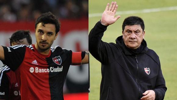 'Nacho' Scocco contó detalles del paso de Burgos por Newell's. (Fotos: Agencias)