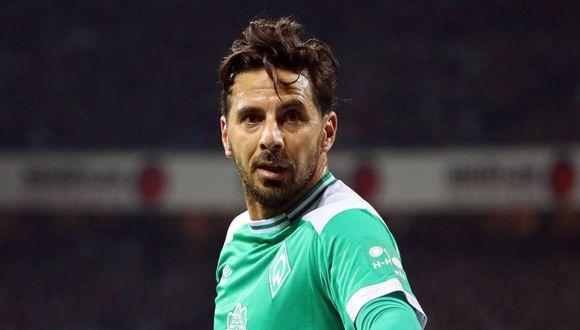 Claudio Pizarro admirado por un ex compañero en Werder Bremen. (Foto: EFE)