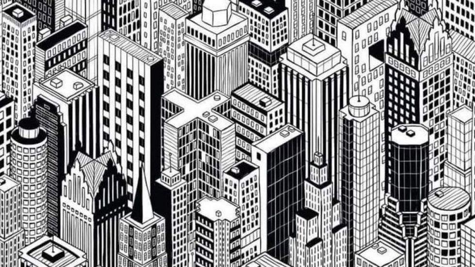 Encuentra al gato oculto entre los edificios de la ciudad en solo 10 segundos. (GimmeMore)