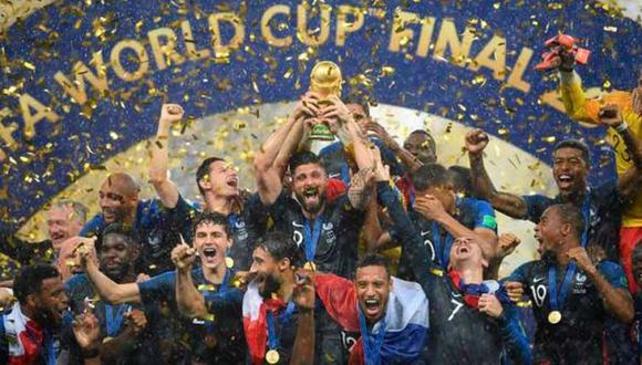 Francia fue campeón del Mundial 2018. (AP)