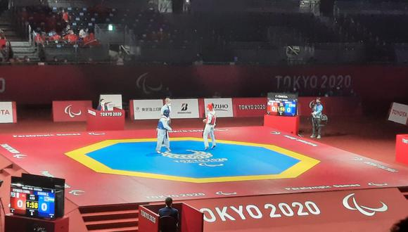 Angélica Espinoza está en la final de Para Taekwondo en los Juegos Paralímpicos Tokio 2020. (Foto: Asociación Nacional Paralímpica del Perú)