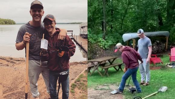 Un video viral muestra el adorable momento en el que un joven le pide a su hermano con síndrome de Down que sea su padrino en su boda.   Crédito:  Will Claussen / Facebook.