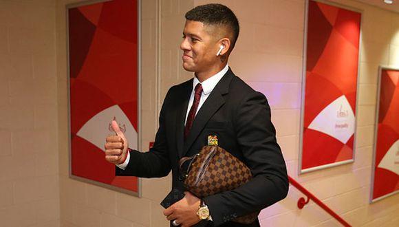 Marcos Rojo llegó al Manchester United en el 2014, tras su gran actuación en el Mundial de Brasil. (Getty Images)