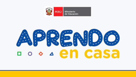 """""""Aprendo en casa"""", el programa del gobierno para impulsar la educación en medio de la cuarentena."""