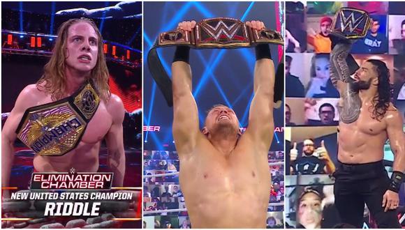 WWE Elimination Chamber 2021: así fue el minuto a minuto de la Cámara la Eliminación. (WWE)