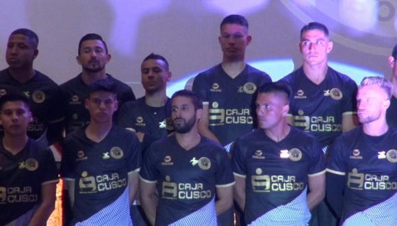 Cusco FC presentó su nueva piel para la temporada 2020. (Twitter)