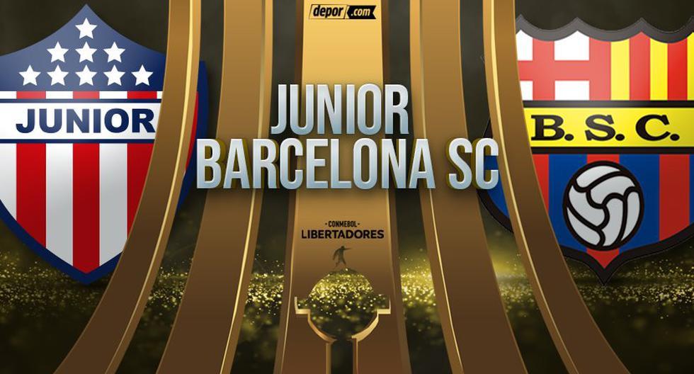 Copa Libertadores 2020: Junior vs. Barcelona EN VIVO por la fecha 5 del Grupo A vía FOX ESPN
