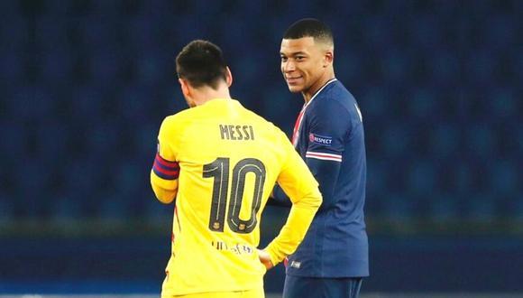 En el PSG están seguros de que Messi aceptará su oferta. (Foto: Instagram Mbappé)