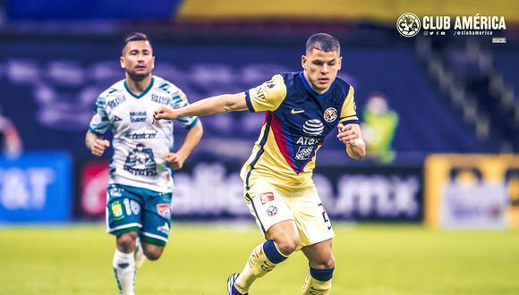 América vs. León se vieron las caras este sábado por la jornada 10 de la Liga MX 2021 (Foto: @ClubAmerica)