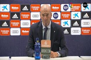 España: Zinedine Zidane evita caer en triunfalismos