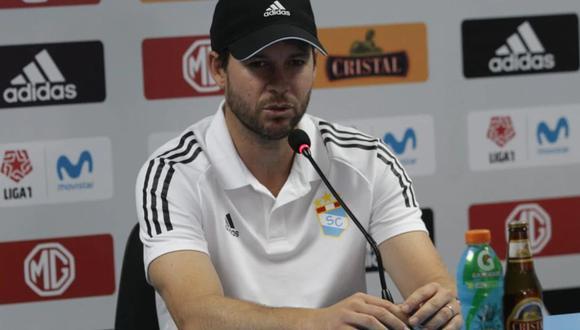 Manuel Barreto dejó de ser técnico de Cristal tras cinco meses en el cargo Foto: GEC