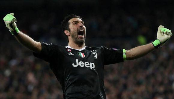 Buffon sumó su décimo título con la Juventus en Serie A. (Foto: REUTERS)