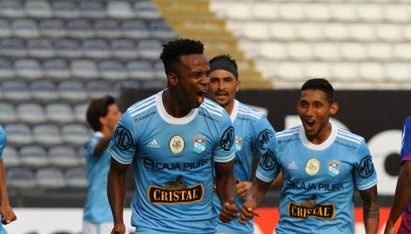 Nilson Loyola anotó el segundo gol para Sporting Cristal. (Foto: Liga 1)