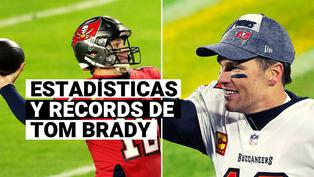 Super Bowl 2021: conoce todas las estadísticas y récords de Tom Brady, el quarterback de los Buccaneers