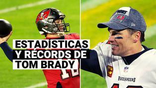 Super Bowl 2021: conoce todas las estadísticas y récords de Tom Brady, el quarterback de los Buccaneers