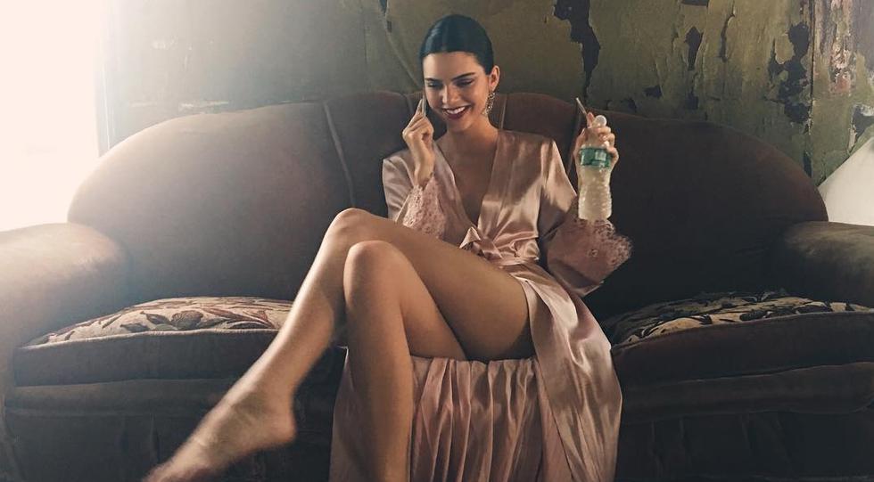 Kendal Jenner muestra toda su belleza en sus redes sociales. (Fotos: Instagram)
