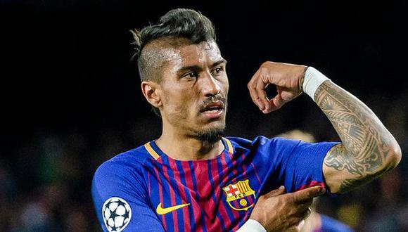 Paulinho usó el dorsal 15 con los colores del Barcelona. (Foto: Getty Images)