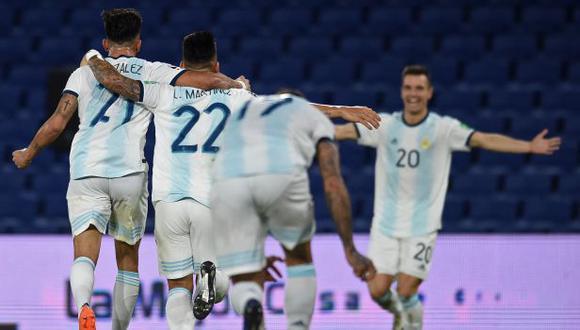 Argentina es segunda con diez puntos, dos menos que Brasil. (Foto: AFP)