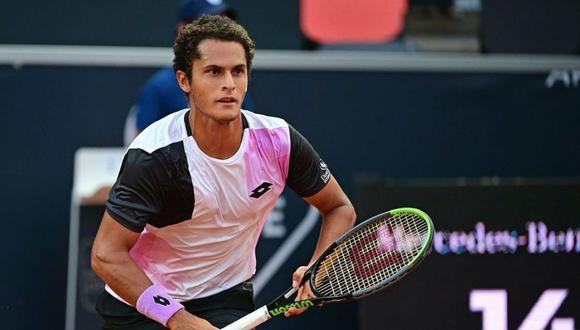 Juan Pablo Varillas se despidió del US Open. (Foto: Instagram @juanpavarillas_oficial)