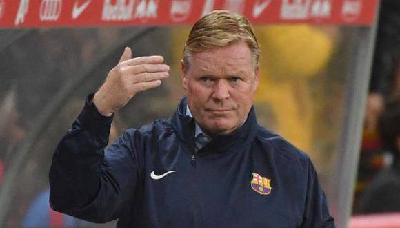 Ronald Koeman encara su segunda temporada al mando del Barcelona. (Foto: AFP)