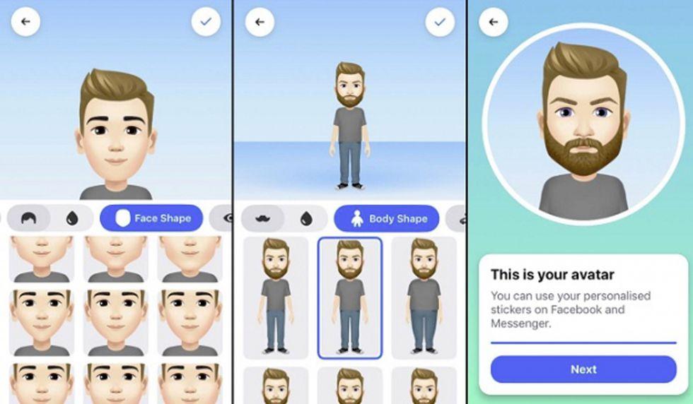 Al finalizar tu avatar en Facebook, podrás obtener diversidad de stickers con distintos sentimientos para compartirlos con tus amigos. (Foto: Facebook)
