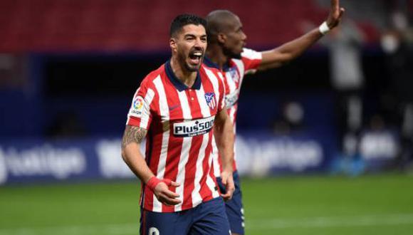 Luis Suárez lleva 19 goles marcados con el Atlético de Madrid en LaLiga Santander 2021. (Foto: Getty Images)