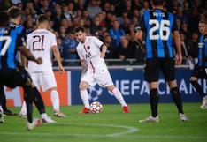 Sin brillo: PSG solo empató ante Brujas por Champions en el estreno de la 'MNM'