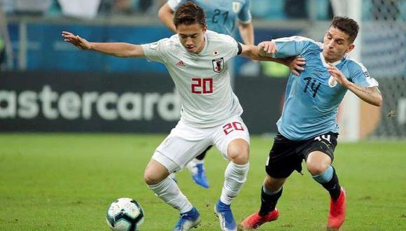 Hiroki Abe disputó la Copa América 2019 con la selección de Japón. (Difusión)