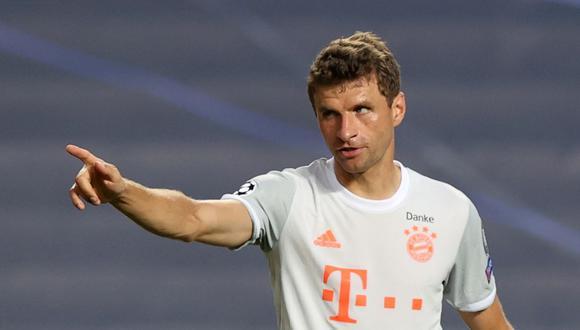 Thomas Müller ganó la Copa del Mundo con Alemania en 2014 tras vencer a Argentina. (Foto: Reuters)