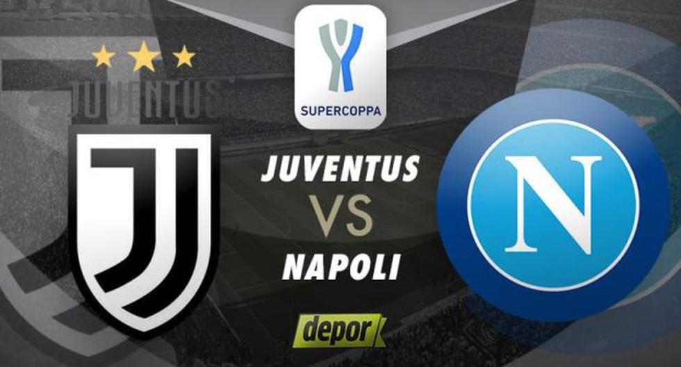 En DirecTV: Juventus vs. Napoli EN VIVO ONLINE  por Supercopa de Italia 2021