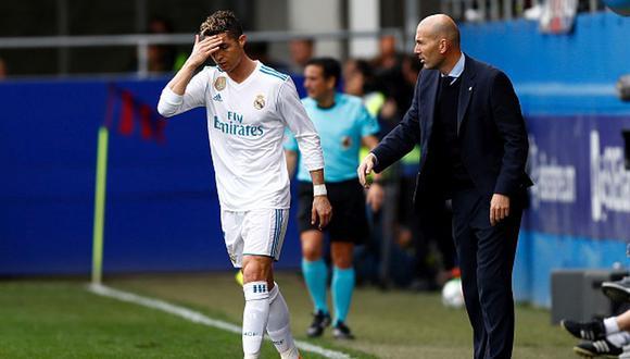 Zidane es técnico del Real Madrid desde el 2015. (Getty)