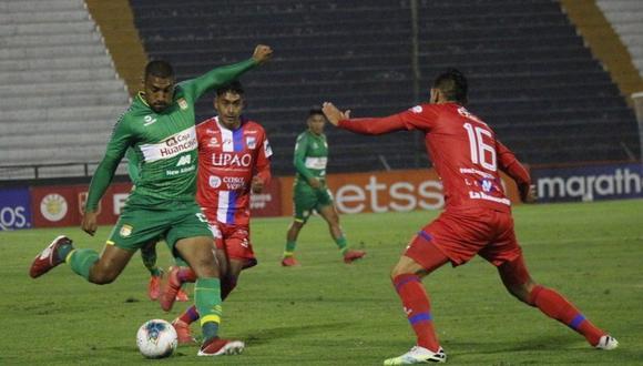 Sport Huancayo ganó 1-0 a Carlos A. Mannucci, por la Fecha 19 de la Fase 1. (Foto: Liga 1)