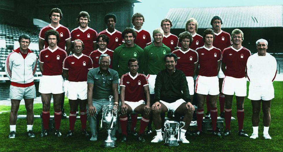 Notthingham Forest en Premier League 1977/ 78 (Getty)