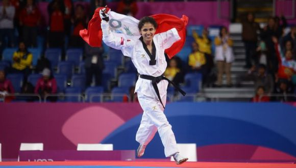 Angélica Espinoza venció a la mexicana Claudia Romero por 20 puntos de diferencia. (Foto: Jesús Saucedo)