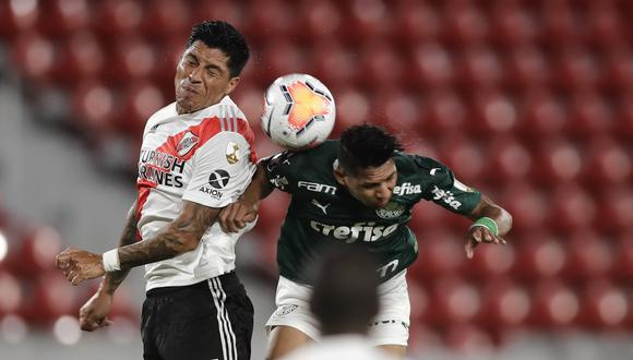 River Plate enfrentó a Palmeiras por la ida de las semifinales de la Copa Libertadores