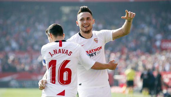 Sevilla está clasificado para la Champions League de la próxima temporada. (Foto: AFP)